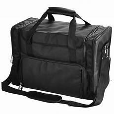 1200d black soft makeup bag pockets artist travel