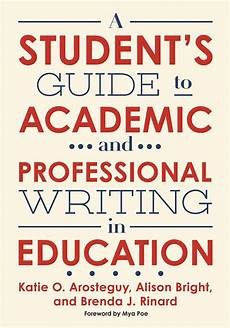 a student s guide to academic and professional writing in