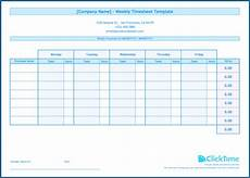 Free Excel Time Sheet Template Free Excel Timesheet Template With Formulas Zitemplate