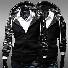 Black And White Designer Hoodie Men S Fashion Camouflage Simple Design Hoodie Casual