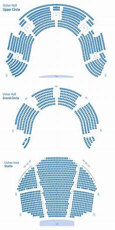 Usher Hall Seating Chart See Tickets Foals Tickets