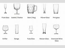 What is the difference between a white wine glass and a