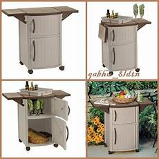 grilling table prep cart barbecue food outdoor storage