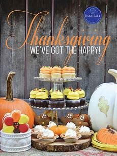 Thanksgiving Bake Sale Happy Thanksgiving Bakery Poster By Bake Sale Toronto