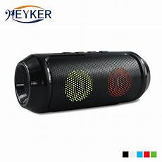 Portable Wireless Bluetooth Speaker Radio Card by Bass Colorful Led Wireless Bluetooth Speaker