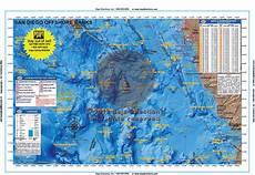 Baja Charts San Diego Offshore Banks Baja Directions