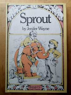 Design Book Gail Minogue Vintage 1976 Book Sprout By Jenifer Wayne Illustrated By