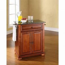 cherry kitchen island cart alexandria black granite top kitchen cart cherry