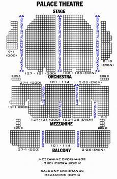 Albany Palace Seating Chart Palace Theatre Playbill