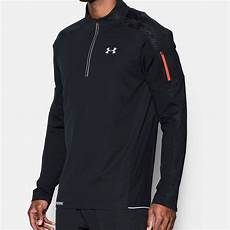 armour sleeve jacket armour mens black water resistant half zip