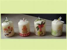 candele decoupage candele natalizie cana regalo di natale feste
