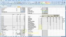 job cost estimator for painting contractors cost estimating sheet with excel for the general contractor