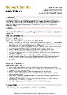 Sample Resumes For Nursing Director Of Nursing Resume Samples Qwikresume
