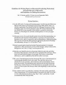 Apa Style Literature Review Literature Review Apa Style Sample Literature Review Apa