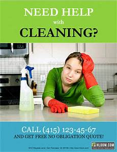 Cleaning Services Advertising 14 Free Cleaning Flyer Templates House Or Business Hloom