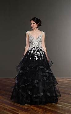 wedding gowns black princess wedding dress martina liana