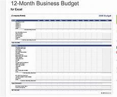 Small Business Budget Worksheet 7 Free Small Business Budget Templates Fundbox Blog