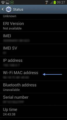 Phone To Address Find Mac Address Of Samsung Galaxy Devices Reviews Amp Guides