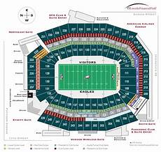 Eagles Stadium Seating Chart Army Online Ticket Office Seating Charts