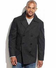 big mans breasted coats big and wool blend breasted pea coat