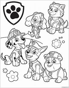 paw patrol 39 coloring page free coloring pages