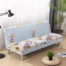 all inclusive slip resistant armless sofa cover floral