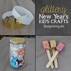diy kids make glittery new year s kid s crafts on the news the