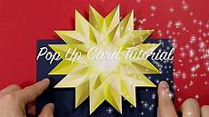 pop up card tutorial last minute pop up card tutorial
