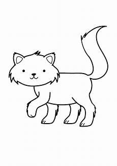 Katzen Malvorlagen Zum Drucken Kostenlose Malvorlage Katzen Katze Ausmalen Zum Ausmalen