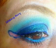 eye makeup look stitch inspired