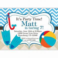 Pool Party Invites Free Printables Free Printable Birthday Pool Party Invitations