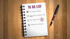 Make List Master The Art Of The To Do List By Understanding How They