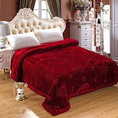 wedding decorative blanket embroidered home textile