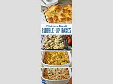 All in One Dinner: Chicken   Biscuit Bubble Up Bakes