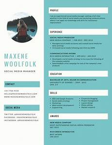 Great Creative Resumes Blue Creative Resume Templates By Canva