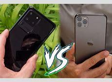 Samsung Galaxy S20 Ultra vs Apple iPhone 11 Pro Max: specs