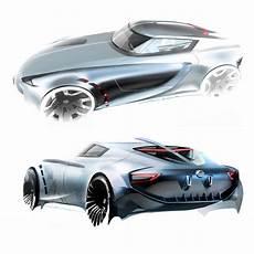 Auto Design Concept Nissan Z Concept Design Sketches By Berk Erner From Art