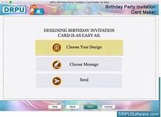 Invitation Design Software For Mac Freeware Birthday Party Invitation Card Maker Software For Mac