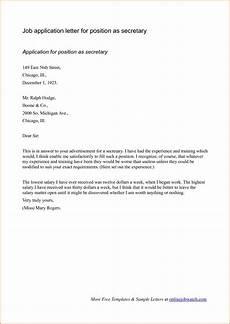 Cover Letter For Applying Job Sample Cover Letter Format For Job Application