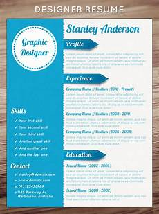Creative Resume Ideas 21 Stunning Creative Resume Templates