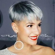 kurzhaarfrisuren graue haare 23 grey hairstyles for a new look crazyforus