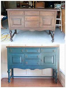 an antique sideboard buffet shabby chic