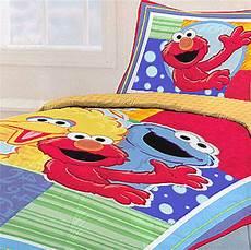 sesame elmo bedding comforter sham set ebay