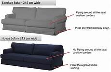 Sure Fit Sofa Cover Png Image by Hovas Vs Ekeskog Differences Can I Fit The Hovas