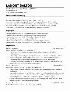 Sample Combination Resume Nursing Combination Resume Samples Examples Format