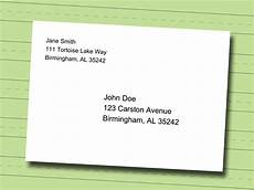 Address Letters How To Write A Professional Mailing Address On An Envelope