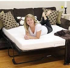sleeper sofa mattress replacement memory foam size