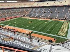 Tennessee Volunteers Stadium Seating Chart Neyland Stadium Interactive Seating Plan
