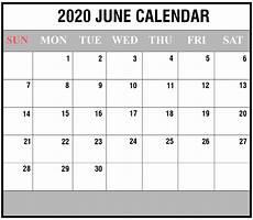 June 2020 Weekly Calendar Free Printable June 2020 Blank Calendar Pdf Excel Amp Word