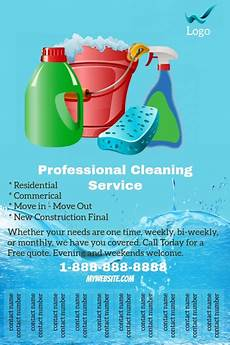 Cleaning Services Advertising Copy Of Professional Cleaning Service Flyer Postermywall